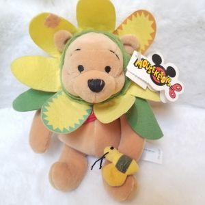 NWT Disney Flower Pooh Plush